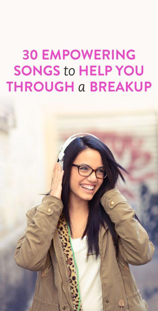 motivational break up songs