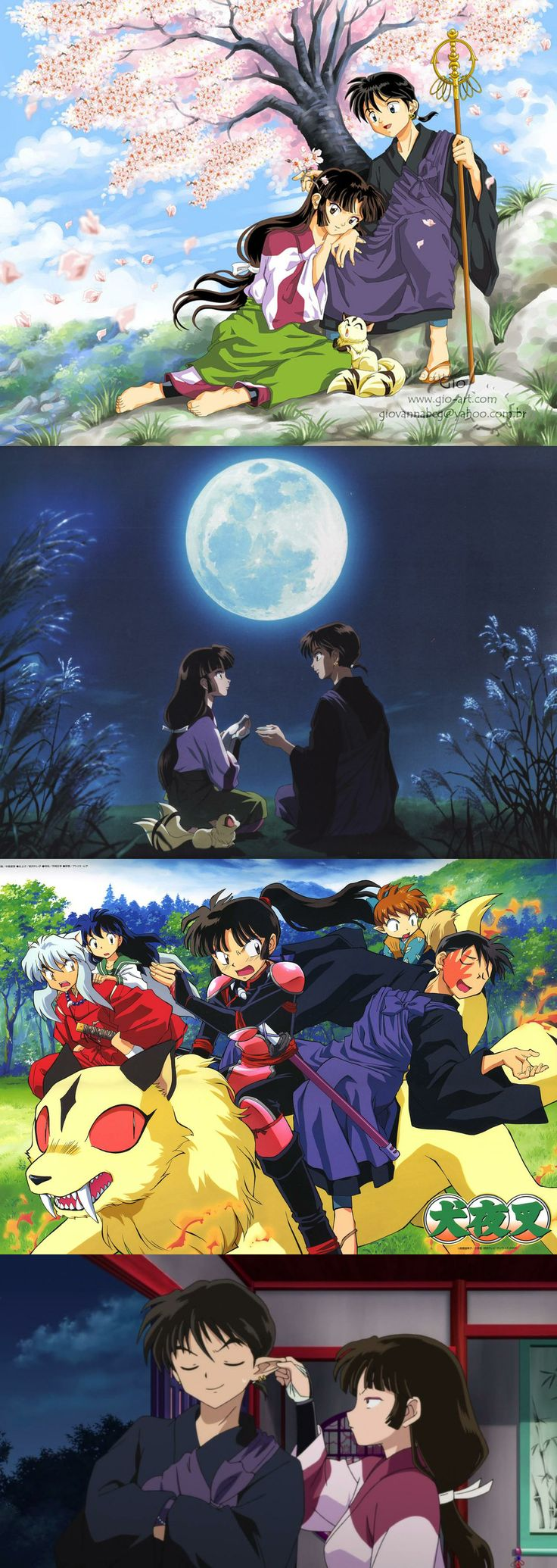 Inuyasha - Sango & Miroku, pretty much one of my favorite anime couples ever