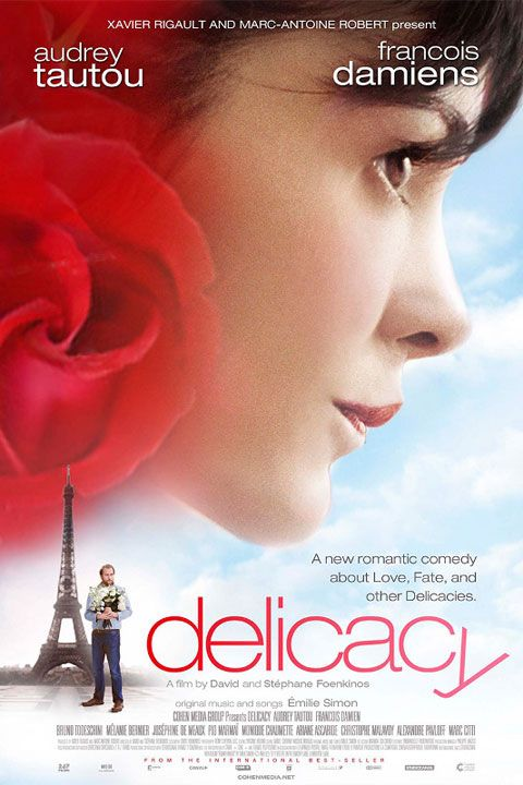 "Audrey Tatou in her new French film, ""Delicacy"". Love."