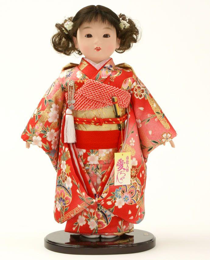 市松人形:Checkered dolls are traditional Japanese dolls  ~Repinned Via NWMess