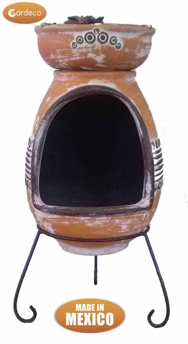 Gardeco Asador Parilla Clay BBQ and Fire Pit