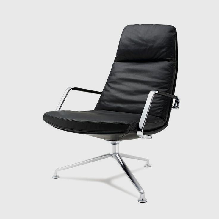 Walter Knoll | FK86   Lounge Chair | Design Jørgen Kastholm U0026 Preben  Fabricius