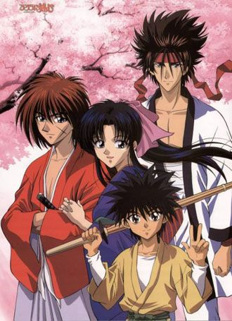 Rurouni Kenshin (Samurai X)  Action, Adventure, Bakumatsu - Meiji Era, Comedy, Historical, Manga, Martial Arts, Romance, #Samurai, #Shounen, #Swordplay