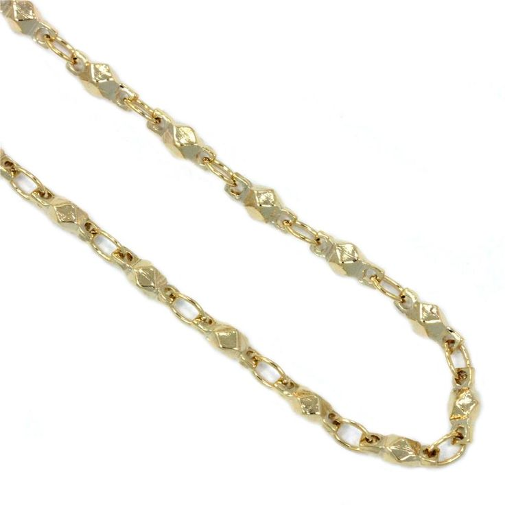 """South Hill Designs Gold Multifaceted Chain 28"""" 23.00"""