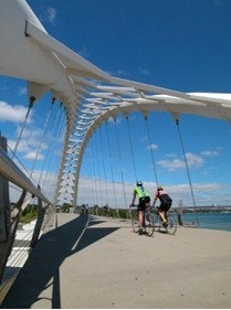 Recognize this place? Derek Flack lists of the best bike paths in Toronto.