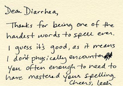 Dear Diarrhea