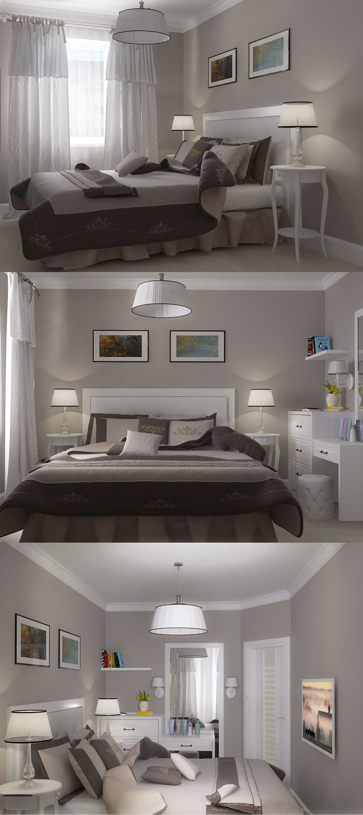 Small bedroom- this is probably almost closest to front bedroom layout