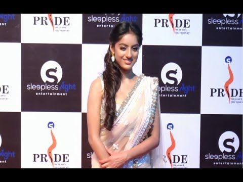 WATCH Deepika Singh aka Sandhya looking gorgeous in saree at Pride Gallantry Awards 2015. See the full video at : https://youtu.be/L-46Kf3UL-8 #deepikasingh