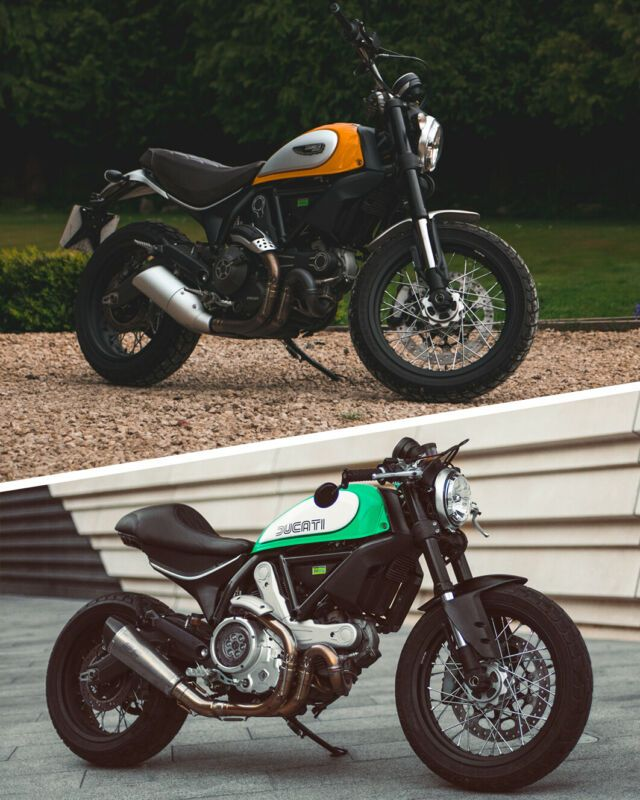 Ducati Scrambler Classic Custom Cafe Racer One Off Custom