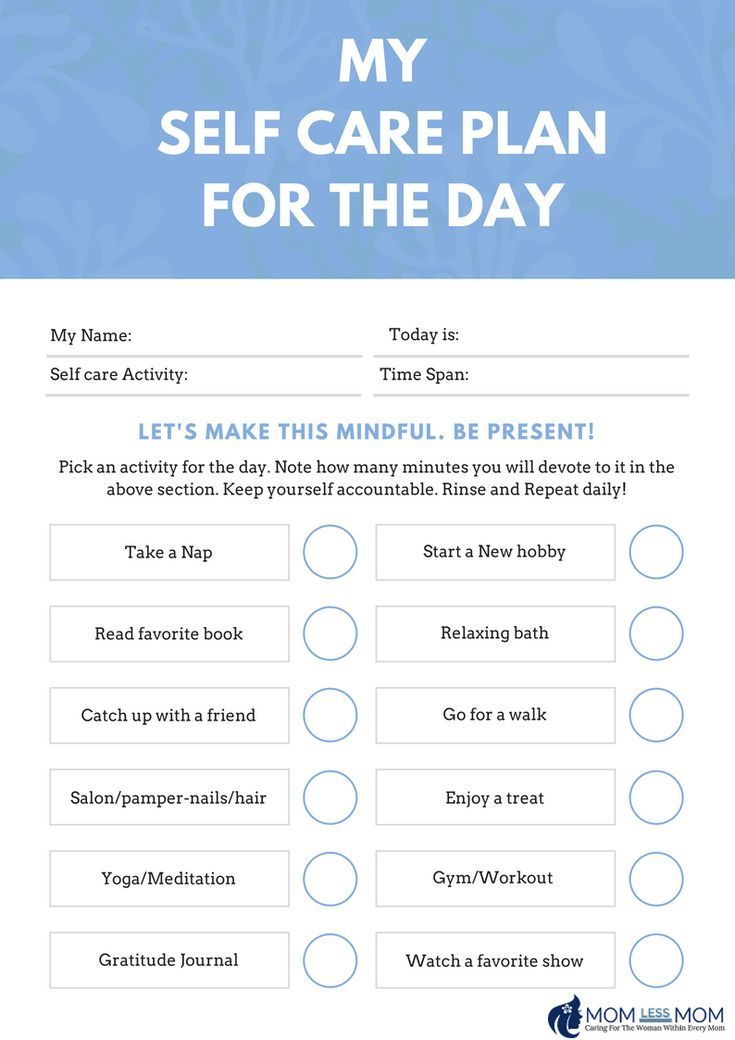 Create A Self Care Routine Today With This Free Self Care