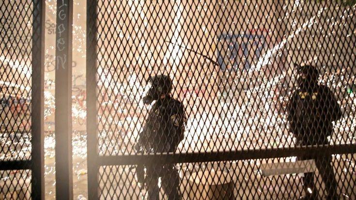 Hong Kong protesters injured after fireworks shot at crowd