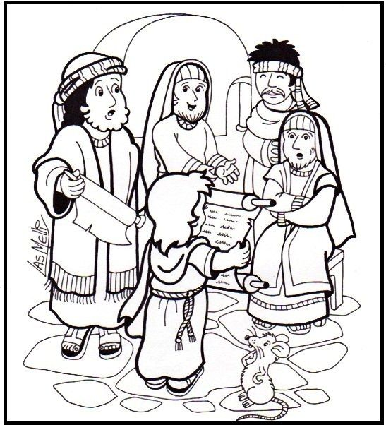 coloring pages jesus temple - photo#15