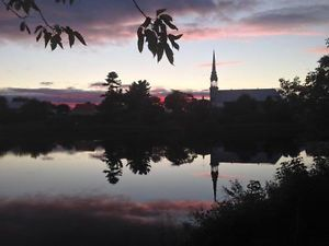 Rivière Nicolet, Sainte-Clothilde-d'Horton, Co Arthabaska, Qc