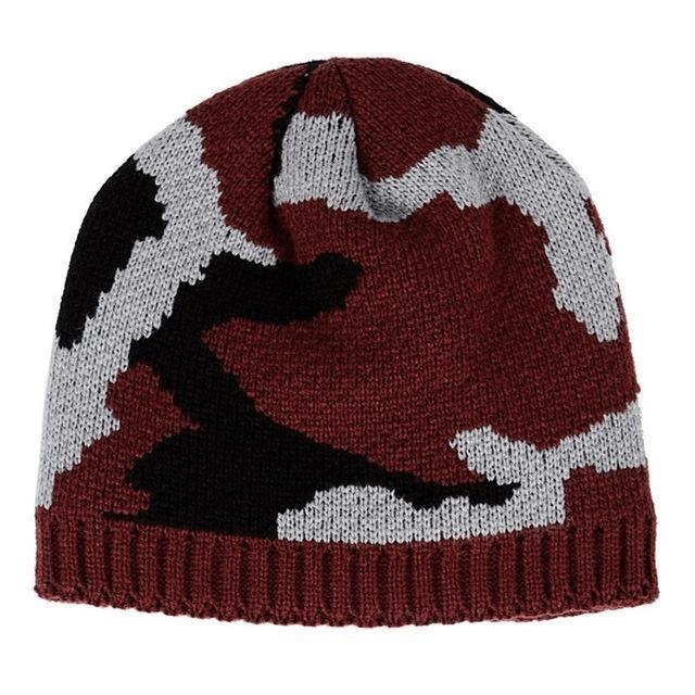 4bc9ed04 Winter Hiking Caps Men Warm Thermal Beanies Ski Bike Motorcycle Warmer  Outdoor Sport Snowboard Hat