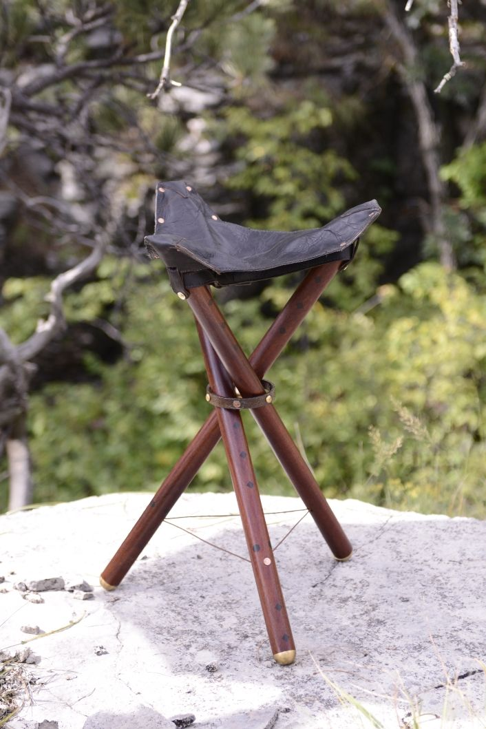 Patent pending folding chair.