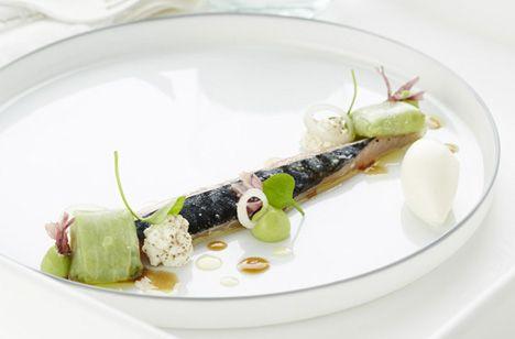 vis - Makreel/komkommer met Pur Natur's Greek Style Yoghurt   De tafel van Tine