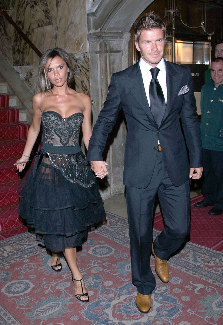 The couple stepped out for the Venice Film Festival in September 2006. | 39 Pictures That Prove David and Victoria Beckham's Love Just Won't Quit | POPSUGAR Celebrity