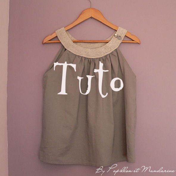 tuto : top Lili - downloadable instructions in French