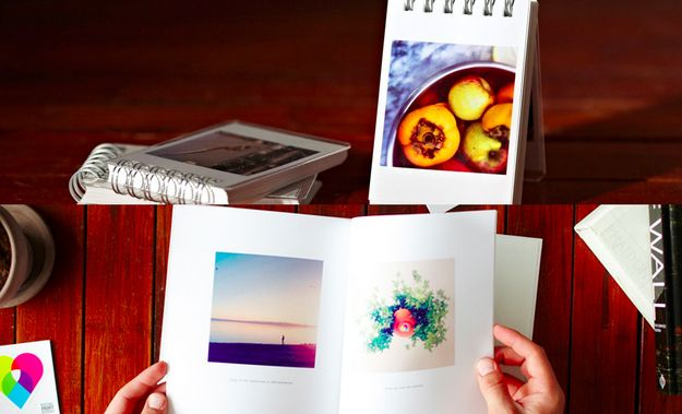 Printed Instagram books for all their travel memories ($12–$25).