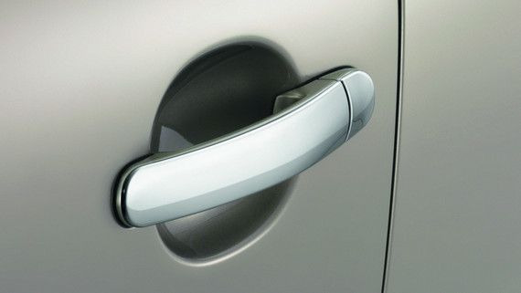 OEM Volkswagen CHROME DOOR HANDLE TRIMS - CHROME LOOK - 5N0-071-340-Q91 - This CHROME DOOR HANDLE TRIMS - CHROME LOOK is a genuine OEM Volkswagen part and carries a factory warranty. We offer wholesale pricing on all Volkswagen parts and accessories, fast shipping, and no-hassle returns. Order online or call 1-888-790-5073 to order by phone. realvolkswagenparts.com