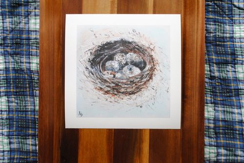 "Check this website out! God is good! ""Nest"" 10x10, Fine Art Print http://www.gratie.org/"