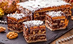 Вафельный торт «Грильяж» | Lekorna - производитель вафельных полуфабрикатов.