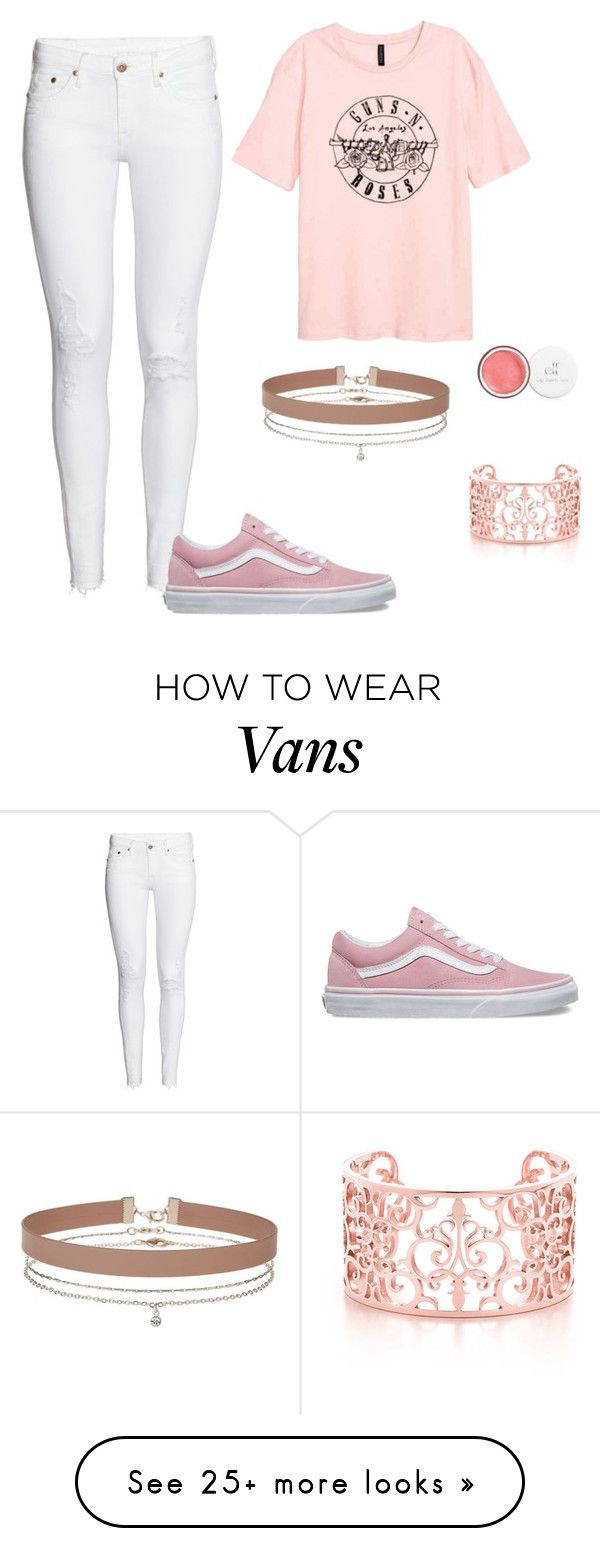 """Band tees"" by madisondurham168 on Polyvore featuring H&M, Vans and Miss Selfridge"