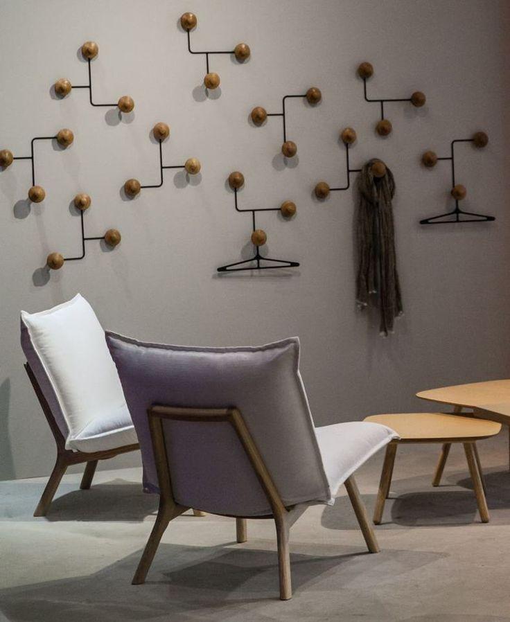 Inno Turner Wall Coat Rack   The Best Wood Furniture