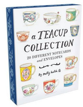 Teacup Collection boxed notecards