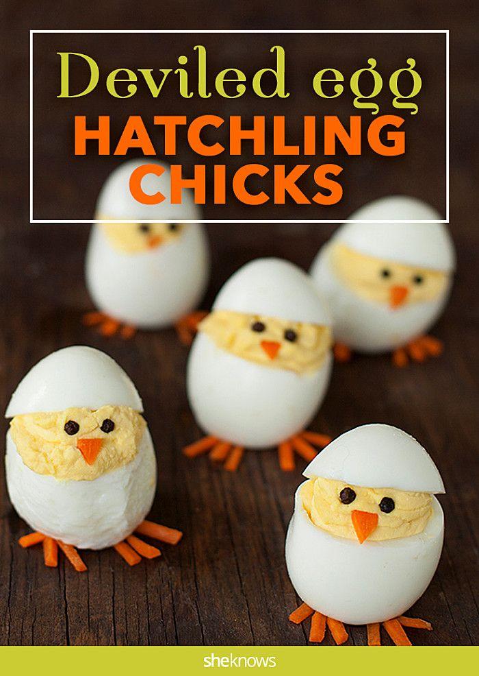 hatchling deviled eggs