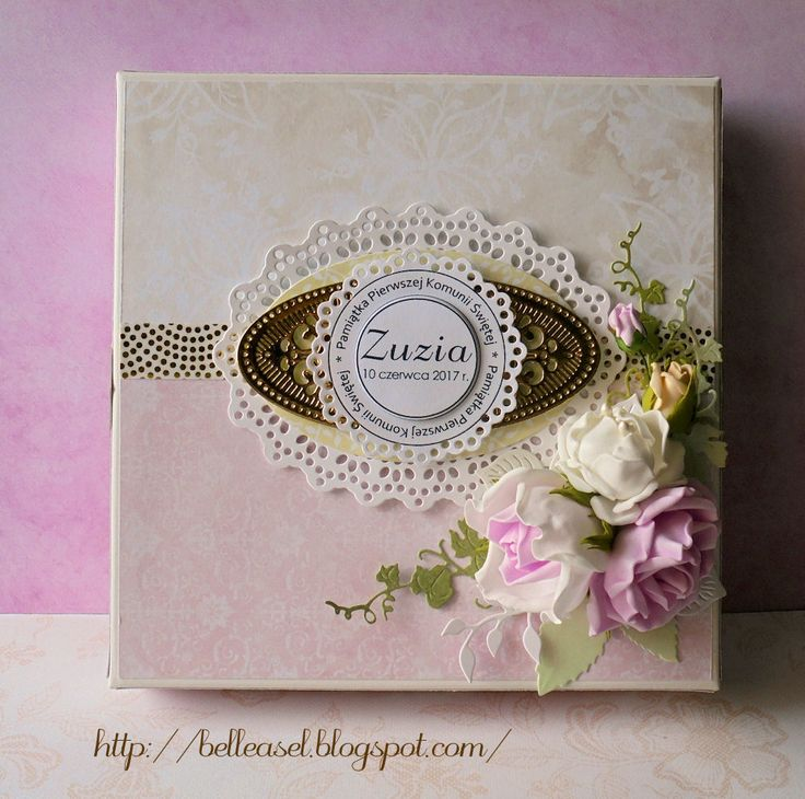 Holy Communion handcrafted card