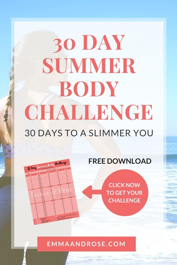 A 30 day plan to help you slim down just in time for summer. Easy to follow workouts - Less than 30 minutes a day - No equipment needed - Diet tips - Workout log - The best part? It's all totally FREE!