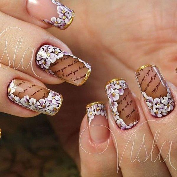 695 best cute makeupnails images on pinterest nail designs 30 nail art designs for summer prinsesfo Image collections