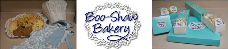 Boo-Shaw Bakery's first Newsletter!  Come sign up at the bottom of our web site for future Newsletters :-)