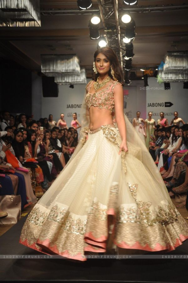 Ileana D'cruz at Anushree Reddy's show at Lakme Fashion Week Summer Resort 2014