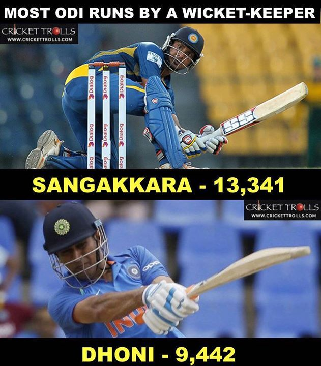 MS Dhoni overtakes Adam Gilchrist #ODI #TeamIndia For more cricket fun click: http://ift.tt/2gY9BIZ - http://ift.tt/1ZZ3e4d