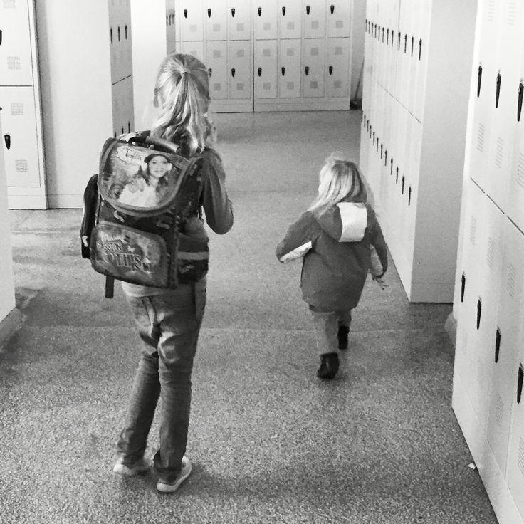 szkoła i powroty do domu ❤️#kids #sisters #love #girls