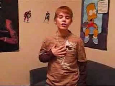 justin bieber / kidrauhl singing with you by chris brown before he became famous ....i love you justin bieber  AND PLEASE LOOK AT   http://www.youtube.com/rahenygang