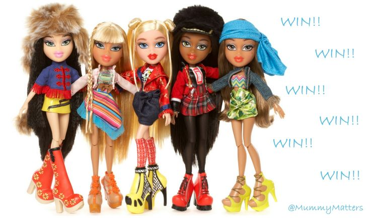 WIN a Bratz Study Abroad Doll in time for Christmas!! E: 21.11.15