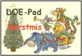 Doe-pad Kerstmis :: doe-pad-kerst.yurls.net