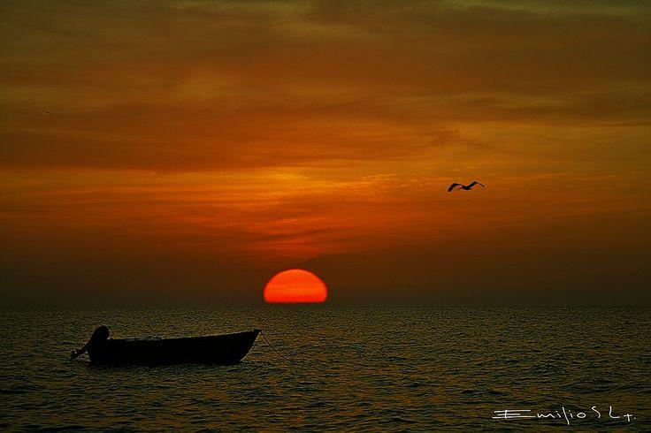Chelem Yucatan Mexico - fishing village near Progreso