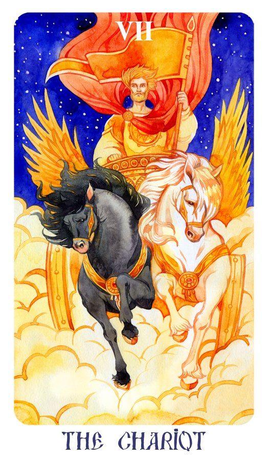 таро колесница картинка томске очень много