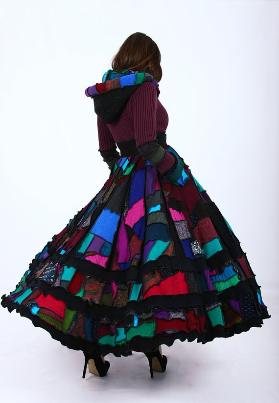 Recycled Sweater Coat - One of a Kind Dream Coat | crafts ...