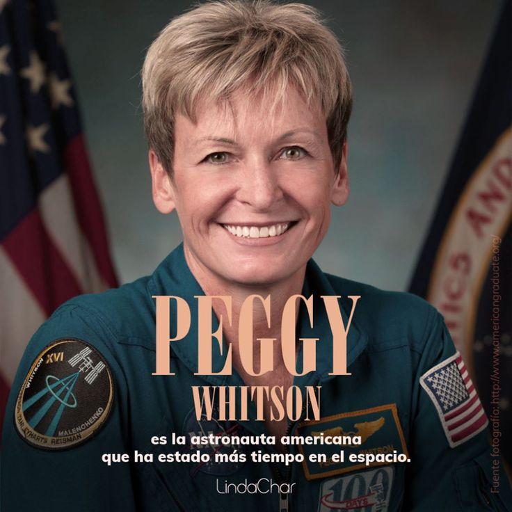 Con 534 días en el espacio, la comandante de la Estación Espacial Internacional Peggy Whitson se convirtió en el primer astronauta americano en estar más tiempo en el espacio... Cada día, más y más mujeres están llegando a donde antes no lo hacíamos. Todo un ejemplo.  #Congratspeggy #NASA #EducaMujer #DespiertaTuLeona #TúEresTuCambio #ControlaTuVida