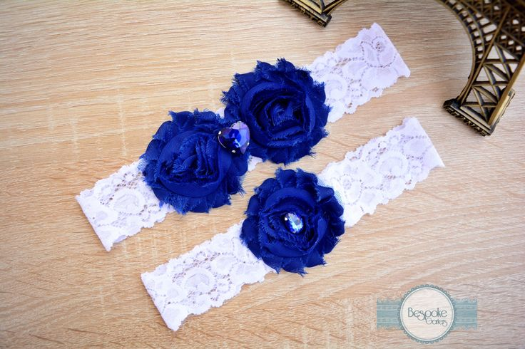Wedding Garter Set, Lace Garter Set, Bridal Garter Set, White Garter Set, Blue Garter Set, Wedding Garter, Bridal Garter, Lace Garter,Garter by BespokeGarters on Etsy