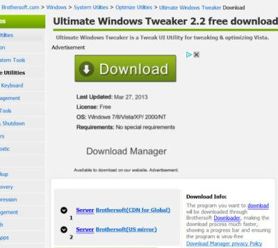 Safe software download sites: Beware of deceptive download links