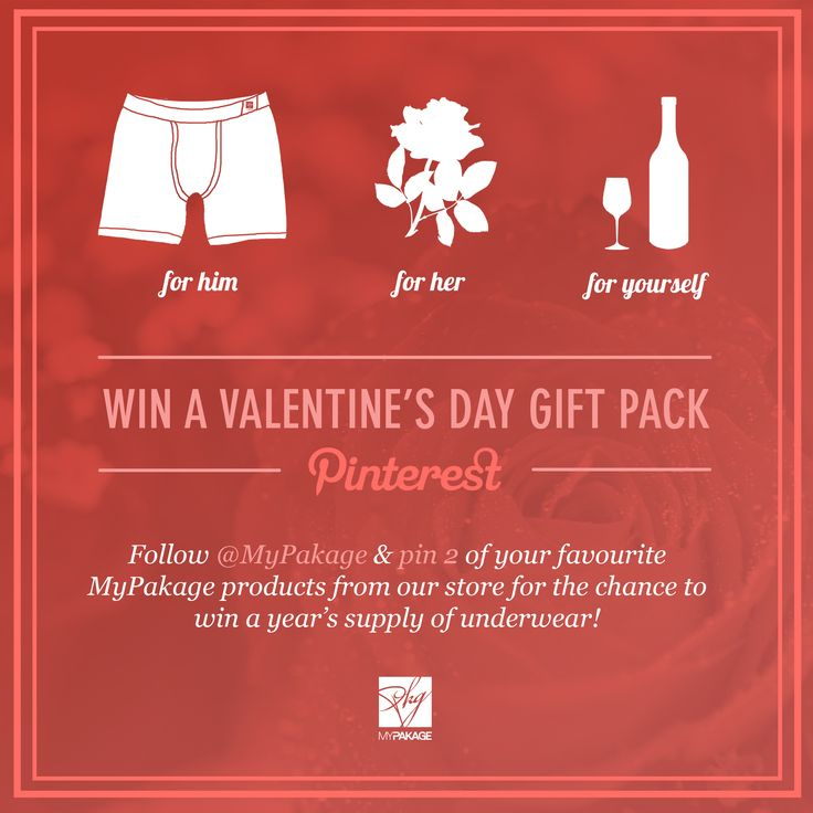 Win 12 pairs of MyPakage! #valentinesday #contest