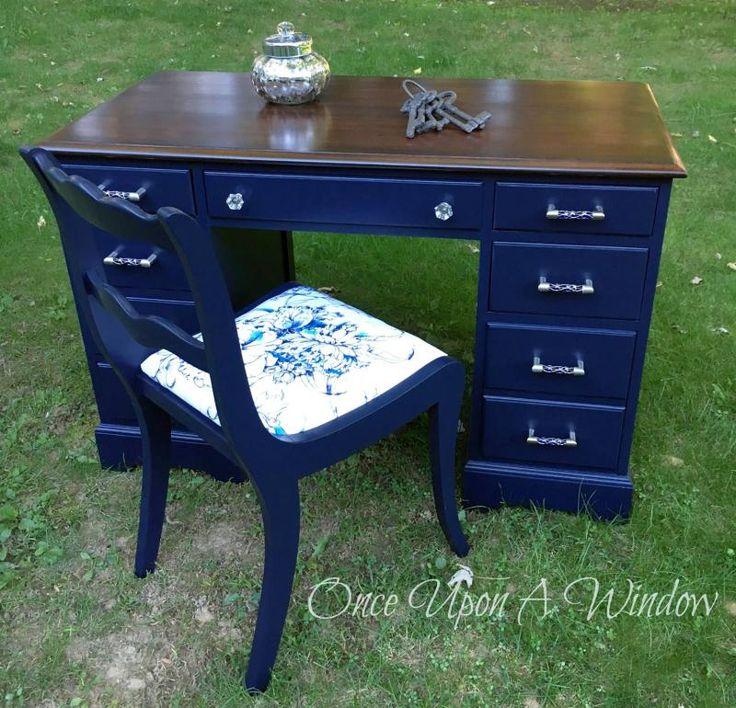 Coastal Blue Desk  Blue FurniturePaint FurnitureFurniture DesignRefinished. 5873 best GF Milk Paint   Inspiration Board images on Pinterest