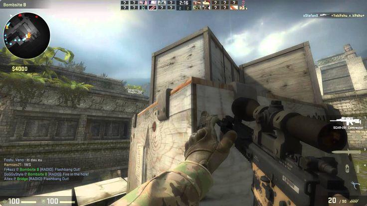 Counter-Strike: Global Offensive ep.4 Portile din aztec versus scar-20