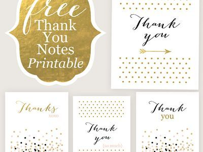 17 best Free Printable Thank You Cards images on Pinterest - free printable anniversary cards